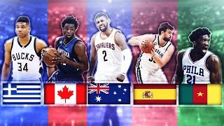 BEST NBA PLAYER FROM EACH COUNTRY thumbnail