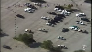 POLICE HELICOPTER CHASE | ARRESTED