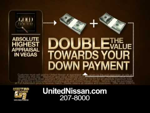 United Nissan Dealer Promotion In Las Vegas Nevada Nissan Gold Doctor