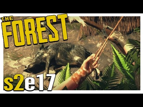 THE BOAR HUNT! | The Forest Gameplay S2E17 (Alpha v0.17)