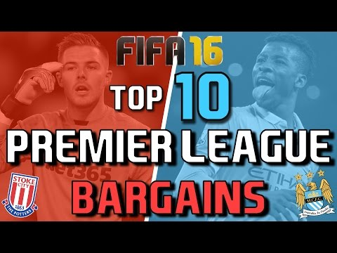 Top 10 Bargains From The Premier League Fifa 16 Career Mode Yt
