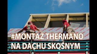 Instrukcja dwuwarstwowego montażu Thermano na dachu skośnym