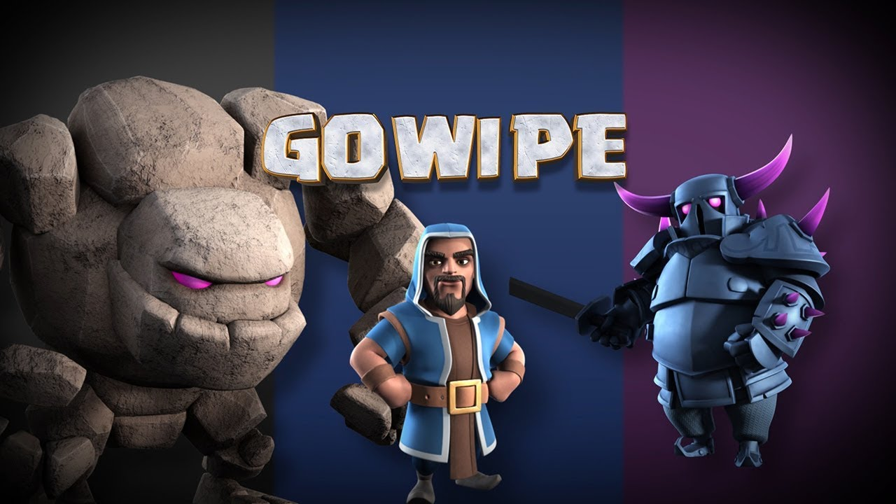 Clash Of Clans The Gowipe Battle Strategy