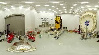 Explore the James Webb Space Telescope at NASA Johnson in 360 [1 - moving forward]