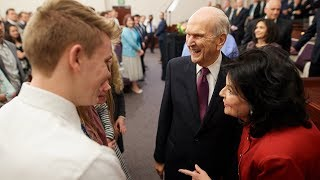 AdviceFromPresident Nelson toMillennialsLiving in a Hectic World