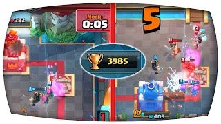 NOOB erreicht die 4.000 TROPHÄEN? | Let's Play Clash Royale