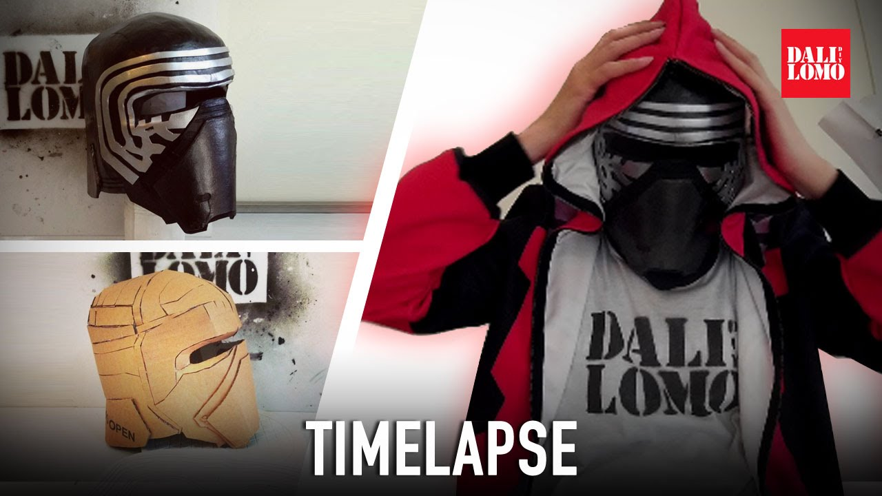 Timelapse make kylo ren helmet diy cosplay youtube solutioingenieria Gallery