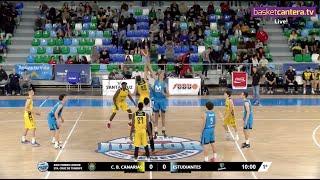 U18M - CAJASIETE CANARIAS vs MOVISTAR ESTUDIANTES - XXIII Torneo Junior Sta. Cruz de Tenerife