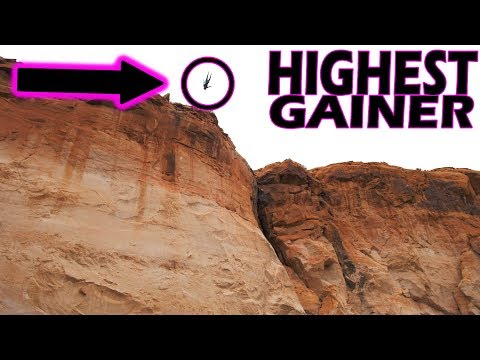 MY HIGHEST GAINER EVER! Huge Cliff Jumps Only Accessible by Boat!
