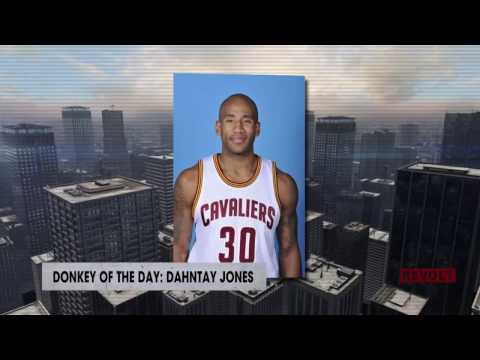 Dahntay Jones | Donkey Of The Day