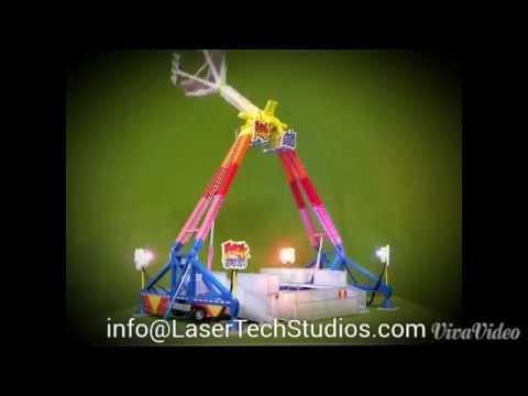 FREAK OUT! HO Scale Model - YouTube