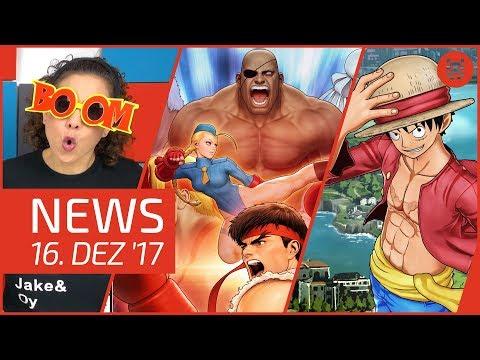 NEWS Ni no Kuni 2 - One Piece World Seeker - Schatten des Krieges - Nintendo Switch - Street Fighter
