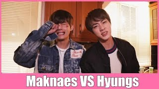 Download BTS Maknaes VS Hyungs Mp3 and Videos