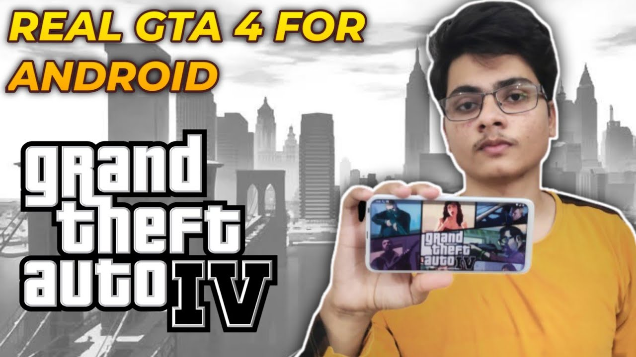 How To Play Real GTA 4 On All Android Devices | Real Map & Missions | Apk + Data | Gameplay Proof