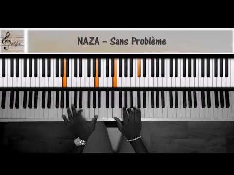 Naza - Sans problème [JDS Piano Tutorial]