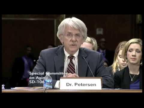 Ron Petersen, MD, on Alzheimer's disease funding