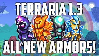 Terraria 1.3 ALL NEW ARMORS PS4 | How to Craft | Solar, Nebula, Vortex, Stardust | PS4 thumbnail