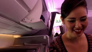 The longest flight in the world premium economy Singapore Airlines