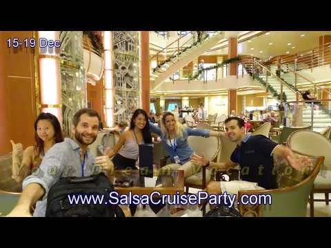 Salsa Cruise Party onbaord Sapphire Princess Cruise - DWF 2017 Singapore