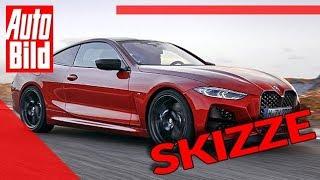 BMW 4er Coupé (2020): Auto - Neuvorstellung - Skizze - Infos