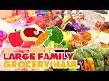 Large Family Grocery Haul | Walmart Grocery Pick-Up | 4-6 Week Haul