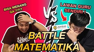 EPIC MATH BATTLE! JEROME VS GURU SENDIRI (SABDA TUTOR ZENIUS)!