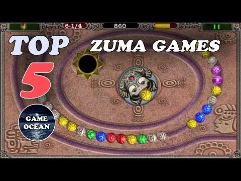 Top 5 Best Free Zuma Dexuxe Games For Android/iOS