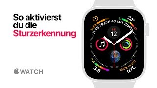 Apple Watch Series 4 - So aktivierst du die Sturzerkennung - Apple