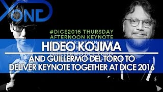 Hideo Kojima and Guillermo Del Toro to Deliver Keynote Together at Dice 2016