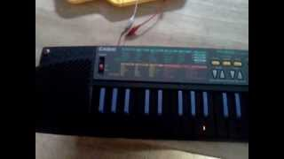 Circuit bent casio SA-35
