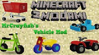 Minecraft z modami #117 - Pojazdy - MrCrayfish's Vehicle Mod