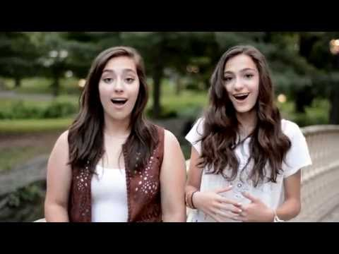I Will by Lennon and McCartney of The Beatles ACOUSTIC Cover (Carly and Martina)