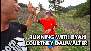 Courtney Dauwalter Talks About Overcoming The Pain Cave-Running with Ryan-Ep 5