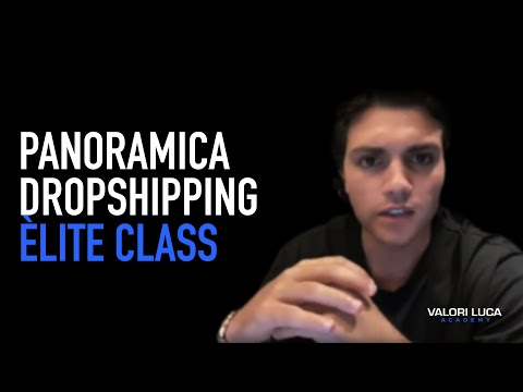 PANORAMICA  DROPSHIPPING ELITE CLASS