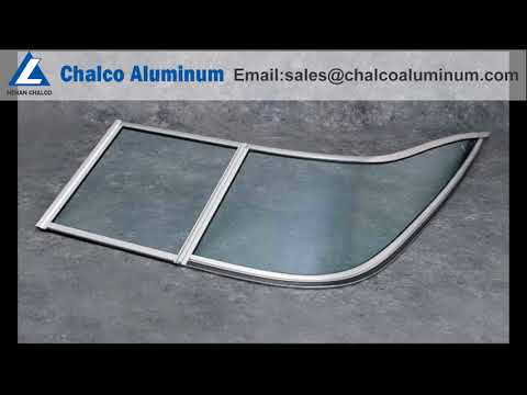 marine aluminium window extrusions/aluminum marine windshield channel