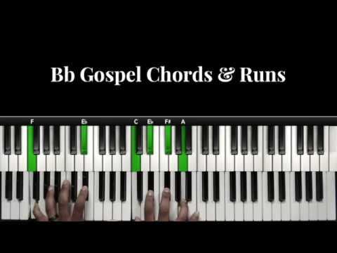Bb Gospel Chords & Runs