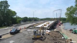 Charles J. Miller Bridge Construction Time Lapse Video
