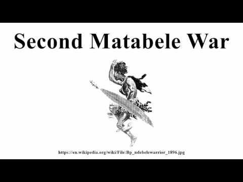 Second Matabele War
