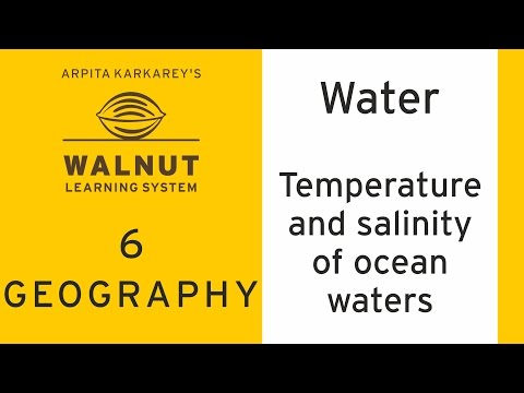 6 Geography - Water - Temperature and Salinity of Ocean Wate