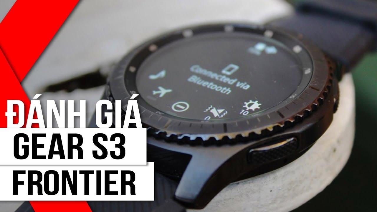 FPT Shop – Đánh giá Samsung Gear S3 Frontier: Khẳng định đẳng cấp phái mạnh.