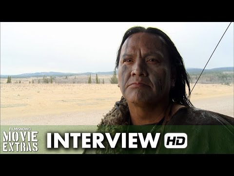 The Revenant (2015) Behind the Scenes Movie Interview - Arthur Redcloud is 'Hikuc'