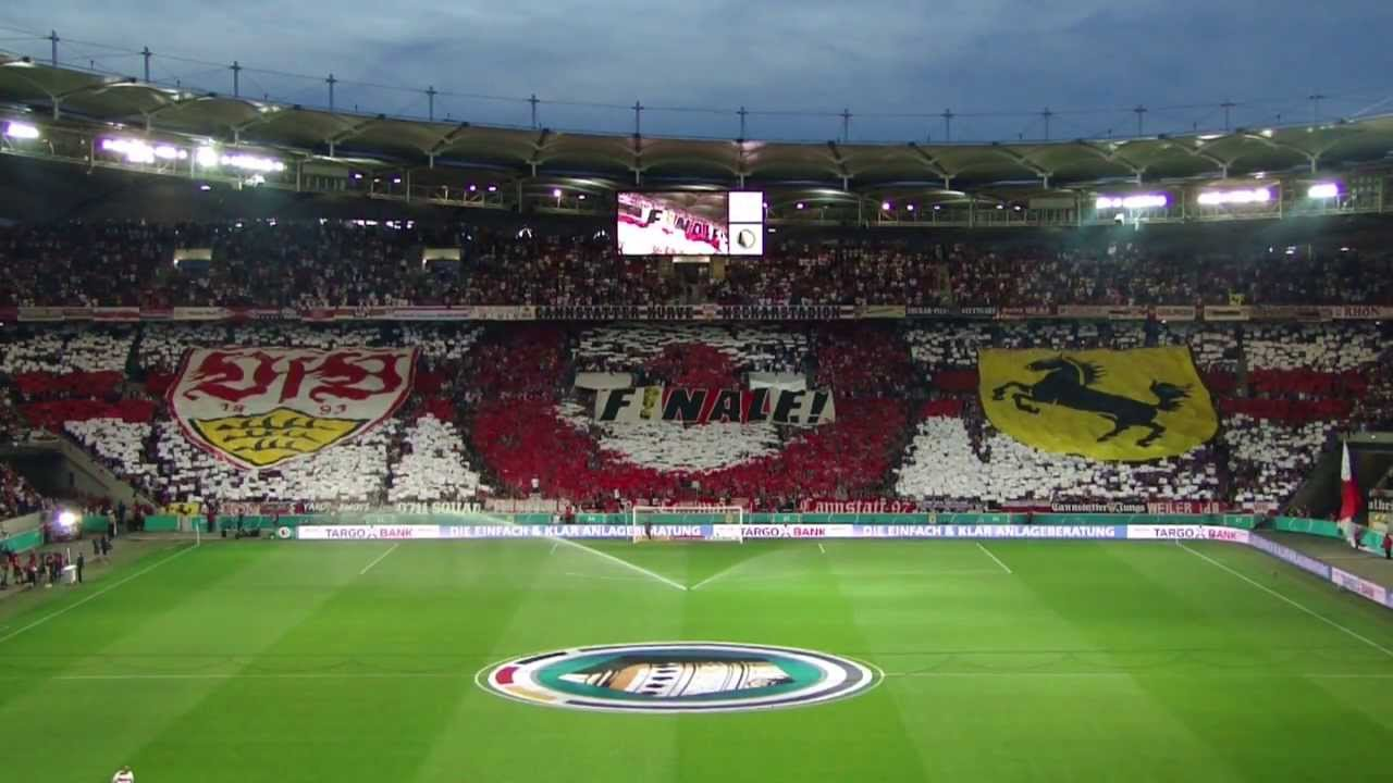 vfb stuttgart sc freiburg choreo dfb pokal 12 13 cannstatter kurve tv ultras stuttgart. Black Bedroom Furniture Sets. Home Design Ideas