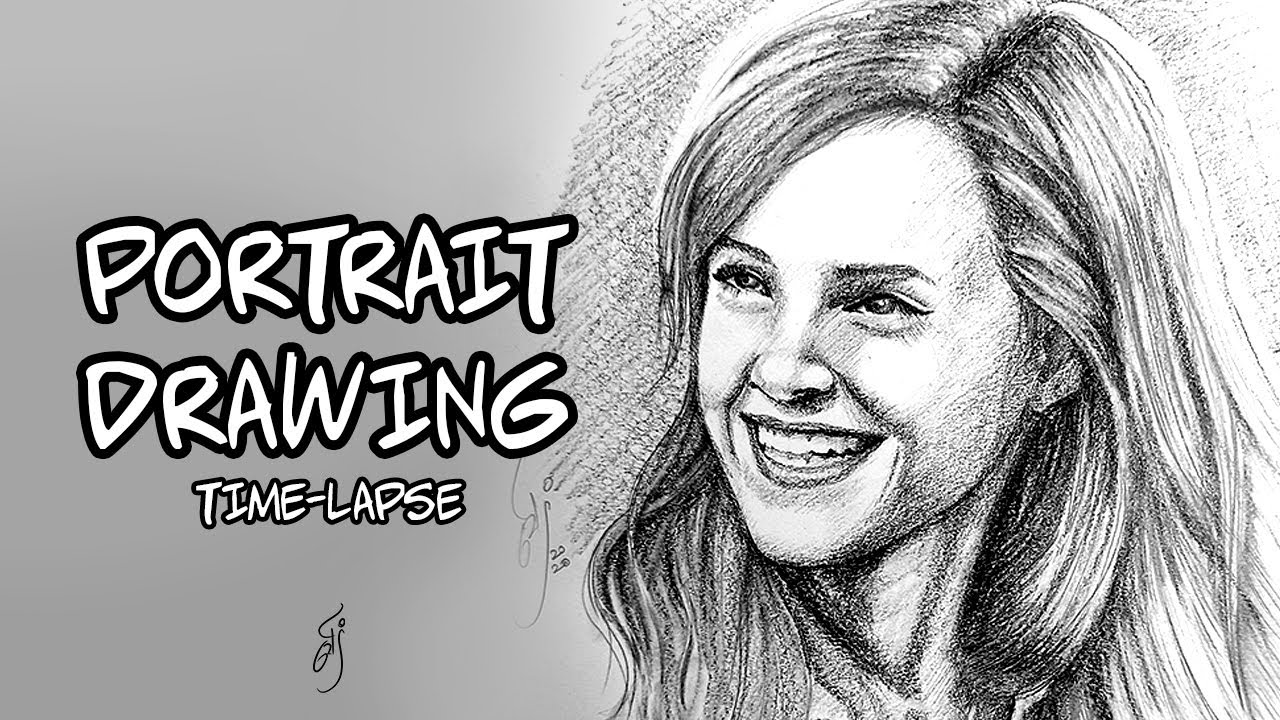 How to draw Portraits :: Emma Watson | Pencil Shading ...