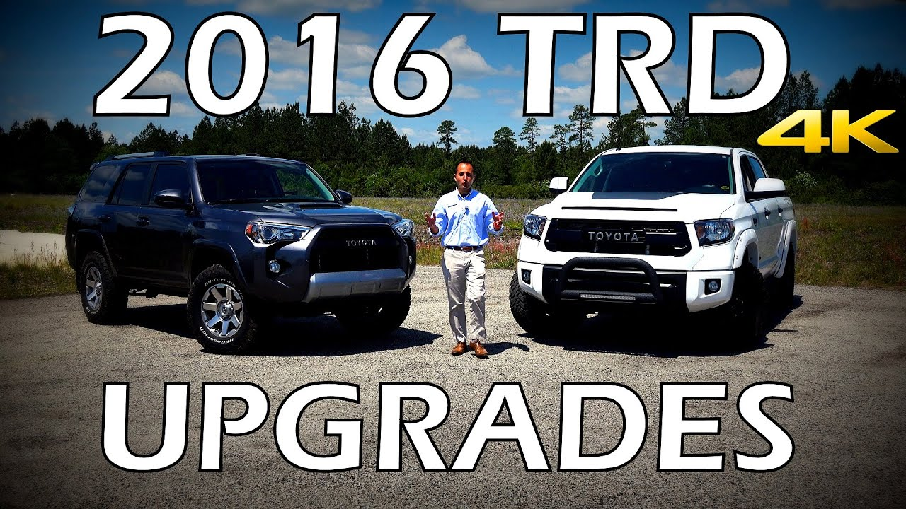 2016 Toyota 4Runner Accessories >> Toyota 4runner Tundra Trd Pro Upgrades And Accessories