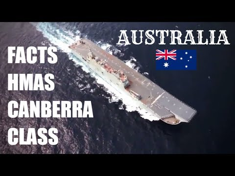 FACTS ABOUT HMAS CANBERRA CLASS Landing Helicopter Dock