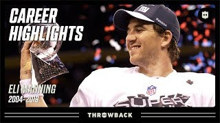 "Eli ""Eazy E"" Manning's CLUTCH Career Highlights! 