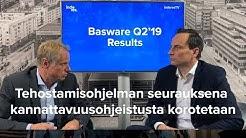 Basware Q2'19: tehostamisohjelman seurauksena kannattavuusohjeistusta korotetaan (englanniksi)