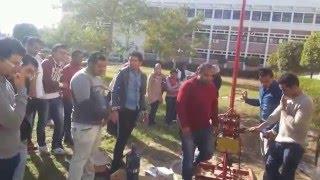 وصول أول ماكينة حفر آبار تعليمية إلي جامعة قناة السويس