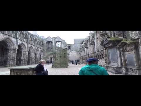 Holyrood Palace and Abbey Edinburgh Scotland