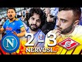 😡 NERVOSI... NAPOLI 2-3 SPARTAK MOSCA | LIVE REACTION NAPOLETANI AL MARADONA HD
